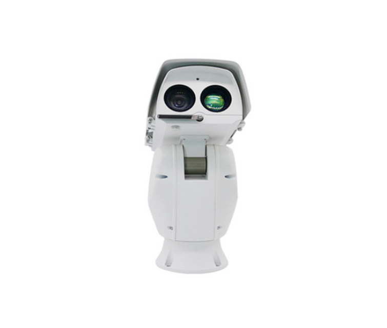森林防火高空瞭望监控系统双光谱云台摄像机防火预警距离4-8公里可见光热成像重载云台摄像机