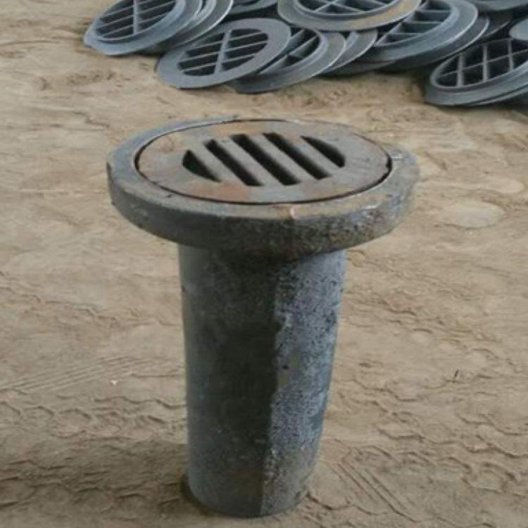 铸铁泄水管泄水管铸铁篦子 圆形铸铁泄水管重量 途腾