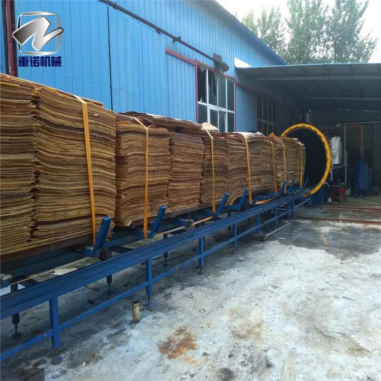 重诺橡胶木防腐设备 高压木材浸渍罐