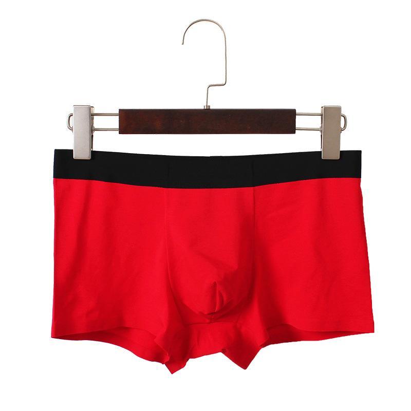 公熊男士平角内裤无痕棉莫代尔平角内裤裤衩低腰性感韩版