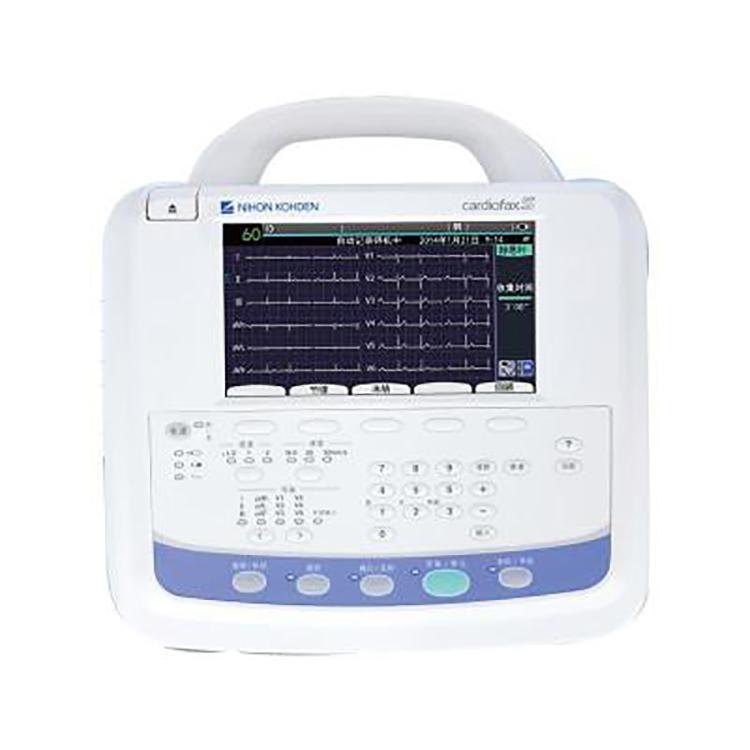 上海光電 ECG-2250 多道心電圖機 六通道打印 自動分析結果