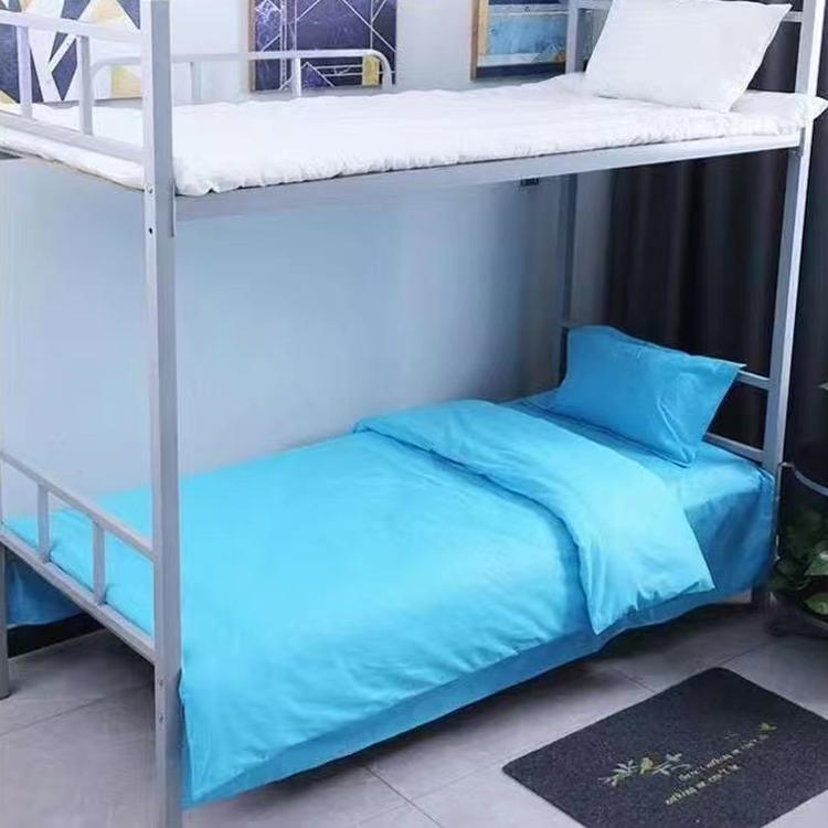 学校床上用品 定制三件套 学生单人床上用品 欢迎选购 蓝玥家纺