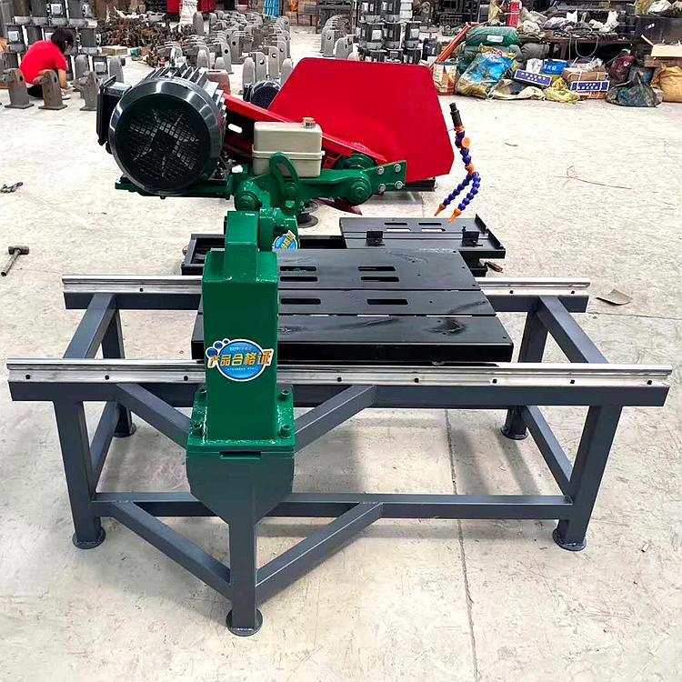 信通切割机械石头切割机 电动石材切割机 台式石材切割机