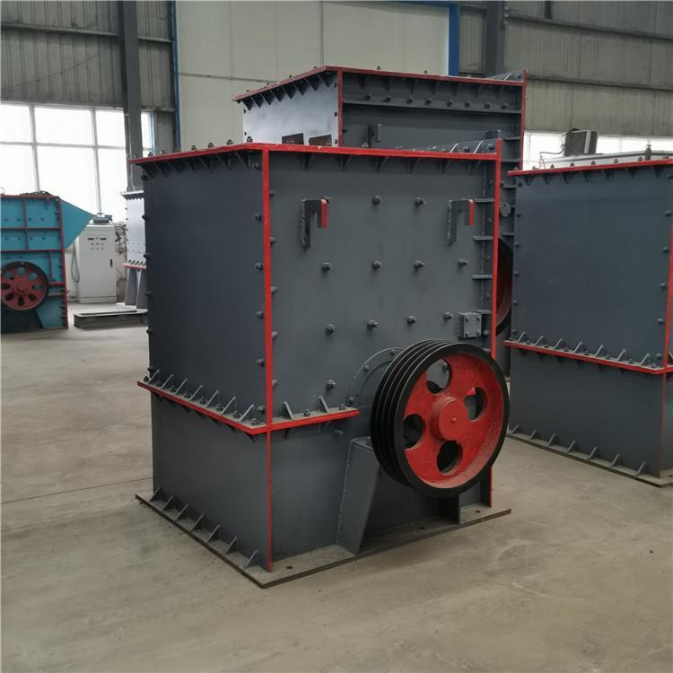 日产80-120石料生产线配置 鸿宇1416箱式破碎机 重锤破石机厂家