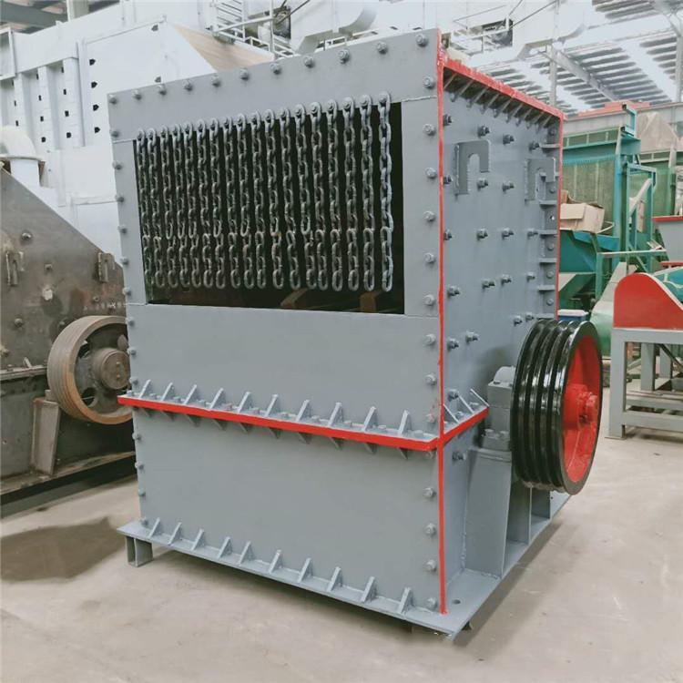 轧石子机器时产200吨 鸿宇机械 1416方箱破整机参数重量