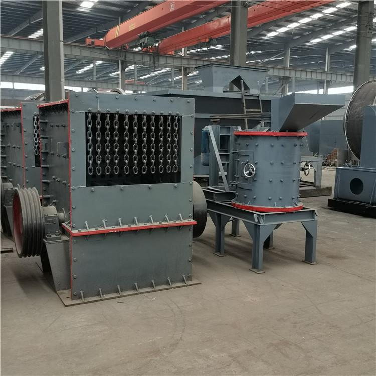 河南生产重锤破石机 日产200吨的石料机器设备 鸿宇机械