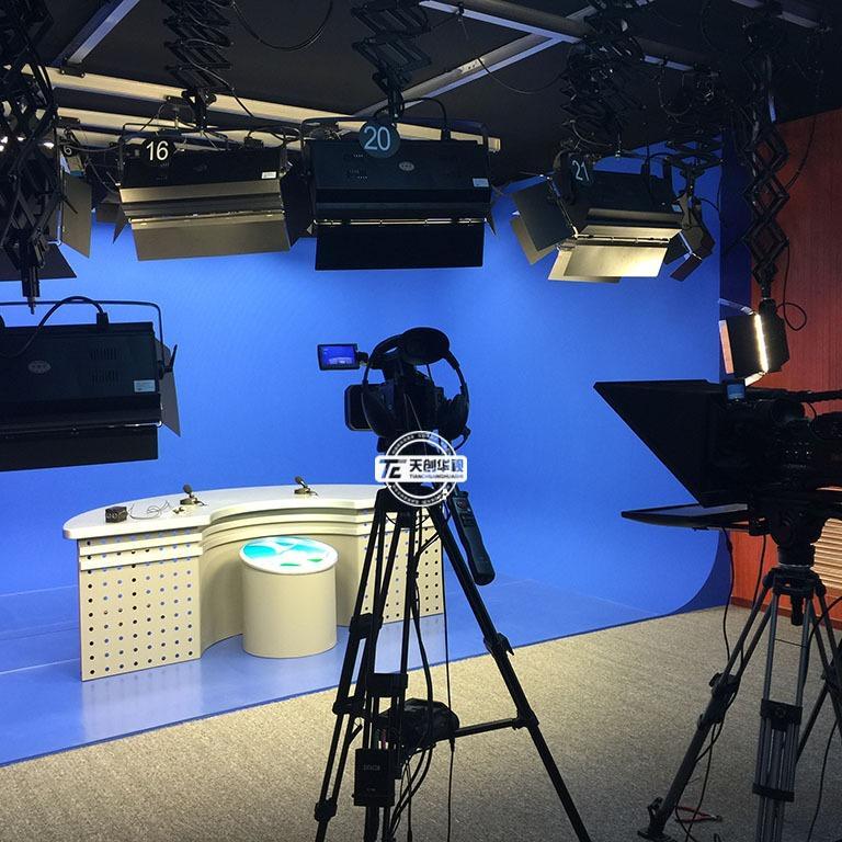 天创华视搭建虚拟演播室 供应虚拟演播室设备