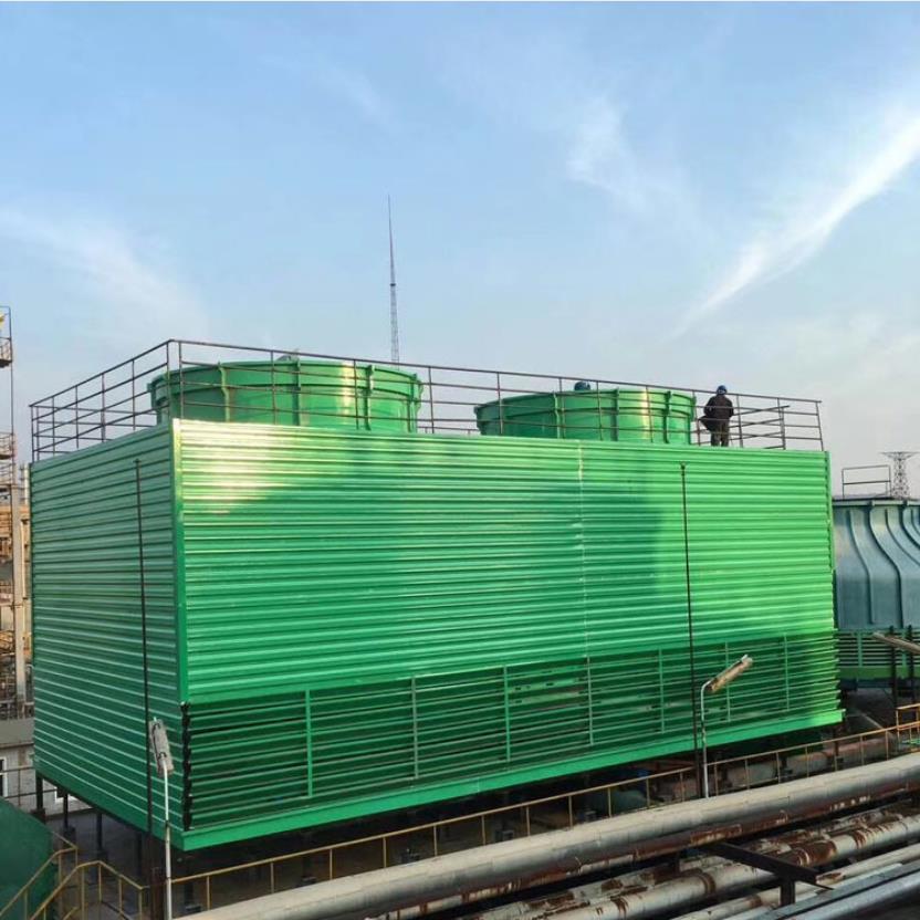 宏丰 玻璃钢方形冷却塔 空调冷却水塔 玻璃钢横流冷却塔 工业逆流方形冷却塔 安装维修保养