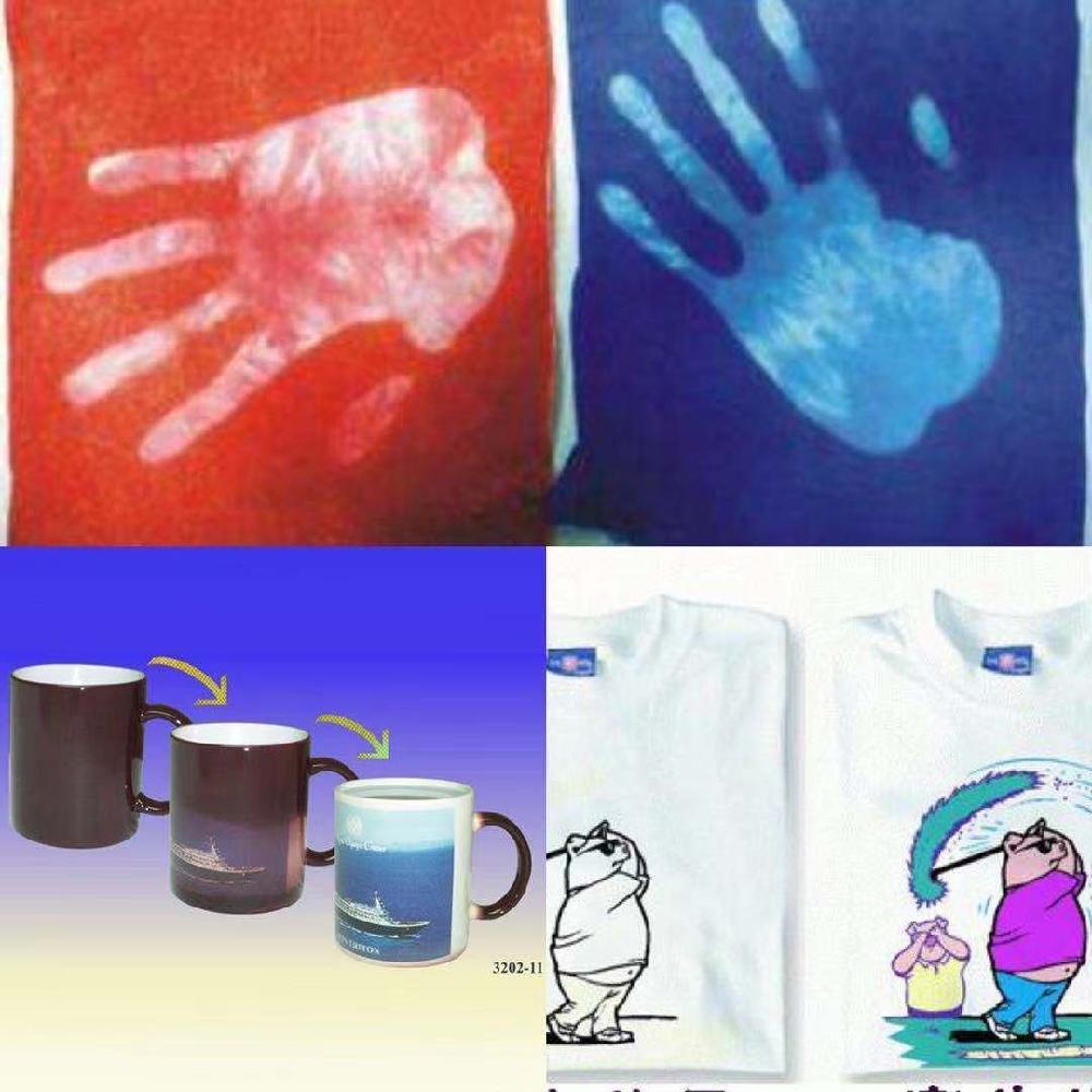 万丽宝供应水性感温变色油墨丝印印网印刷专用温变油墨
