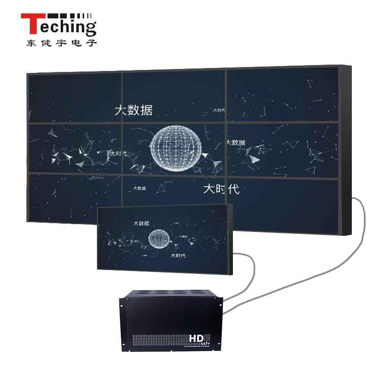 信号处理器视频会议高清编解码器异形屏幕拼接器森林公园监控东健宇