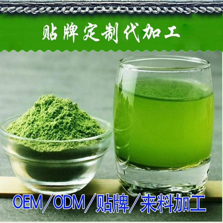 大麦若叶青汁粉 大麦嫩叶固体饮料生产厂家 各种果蔬固体饮料代加工