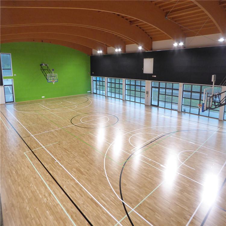 盐捷体育生产加工 防滑运动木地板 运动场运动木地板 价格合理