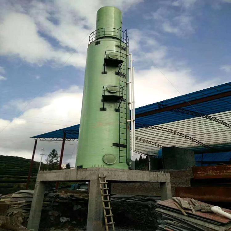 宏丰 砖厂窑炉玻璃钢脱硫塔除尘器 以及安装维修保养 质保价廉 售后无忧