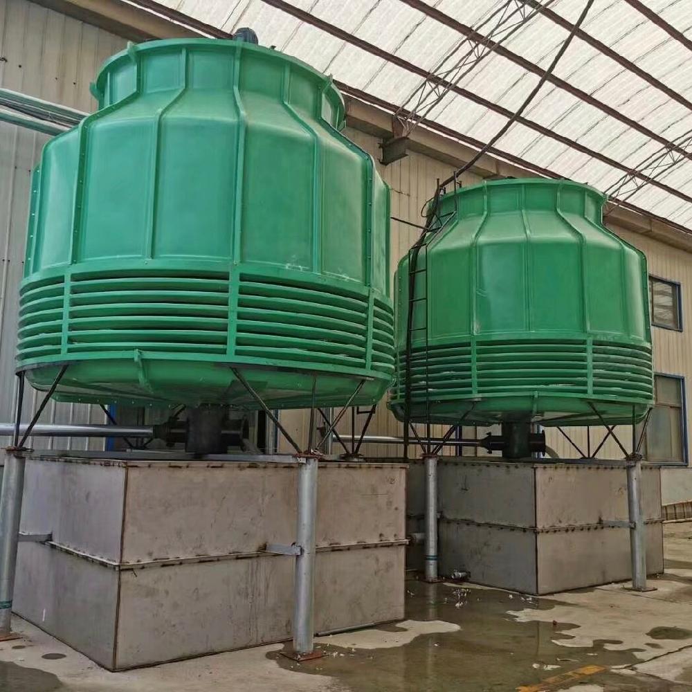 宏丰 玻璃钢冷却塔 工业凉水塔 化工厂用低噪音圆形冷却塔 厂家定制 质保价廉