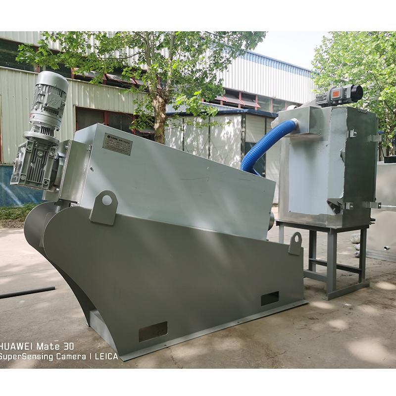 小型污水站污泥处理设备叠螺机 厂家直供叠螺机 小型叠螺机131