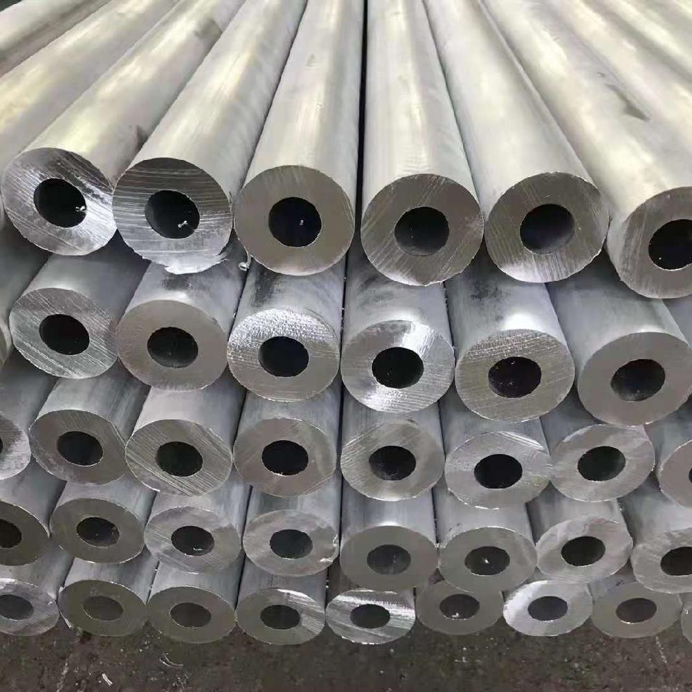 精密铝管 铝管型材定做 椭圆铝管 山东鑫迈铝业