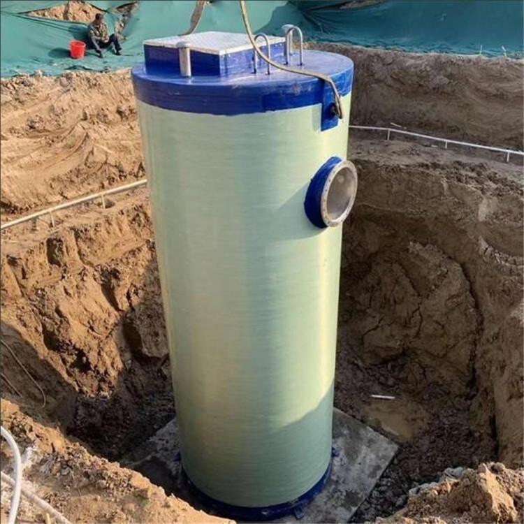 宏丰 生产厂家 地埋一体化泵站 智能一体化预制泵站 一体化污水泵站
