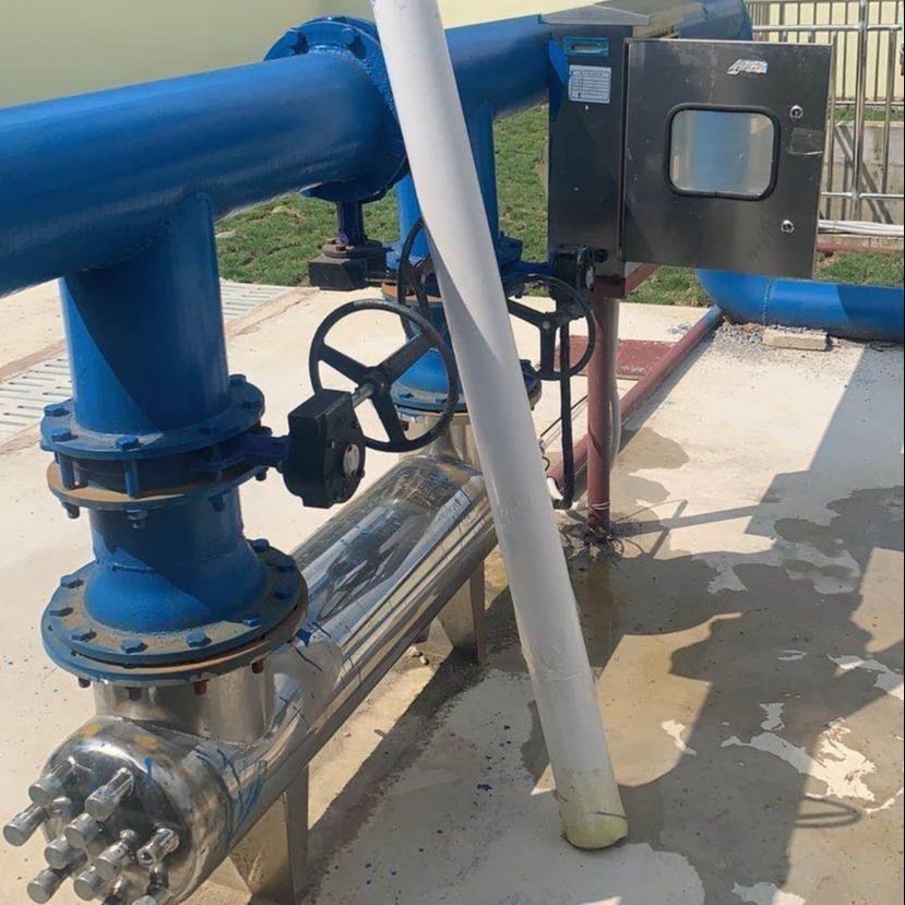 睿汐管道式紫外线消毒器 AOT紫外线消毒器 中压紫外线消毒器