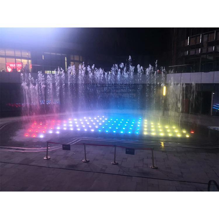 长寿广场喷泉工程# 设计及工程施工