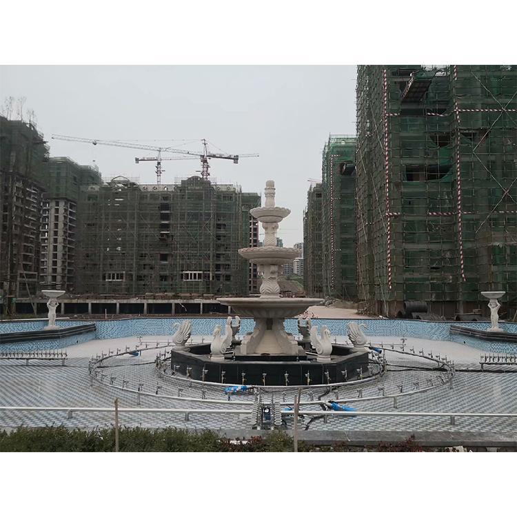 永川广场喷泉工程# 设计及工程施工