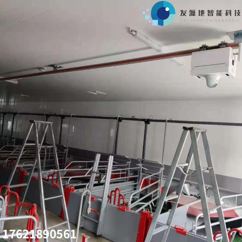 智能巡检机器人 发源地-fyd 衡水猪舍测温巡检 轨道巡检盘数直线环形行走