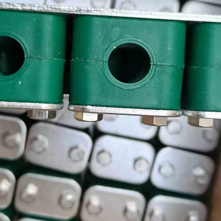 重型管夹 尼龙钢制管夹 O型管夹 衡水德明