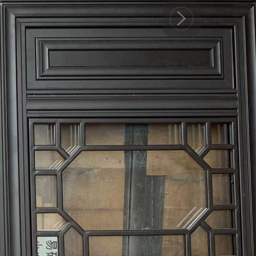 巴森 杭州 门窗中式仿古装修效果图 中式仿古艺术门窗铝合金 来图定制
