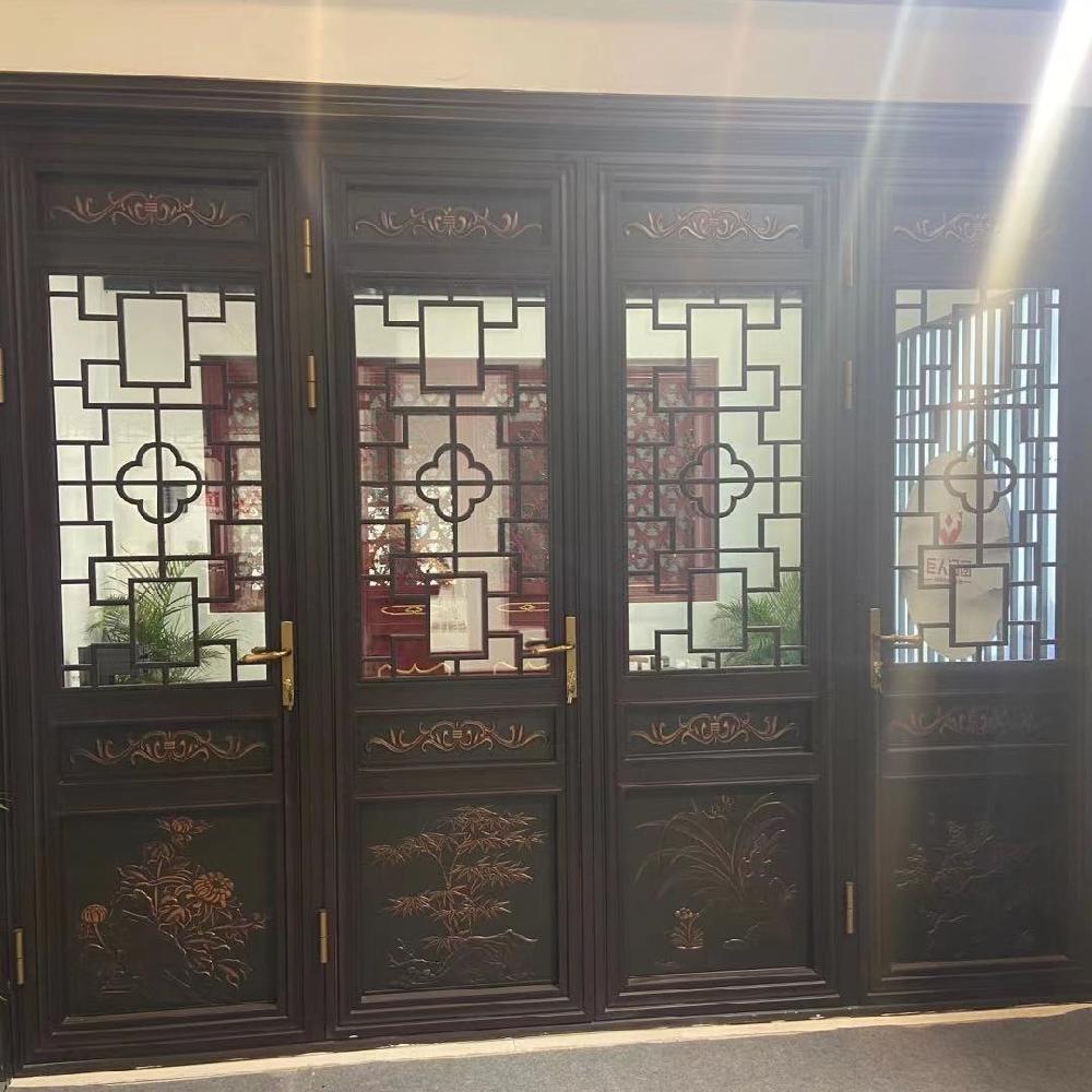 巴森 安徽 仿古铝合金门窗价格 仿古断桥铝合金门窗市场 免费设计