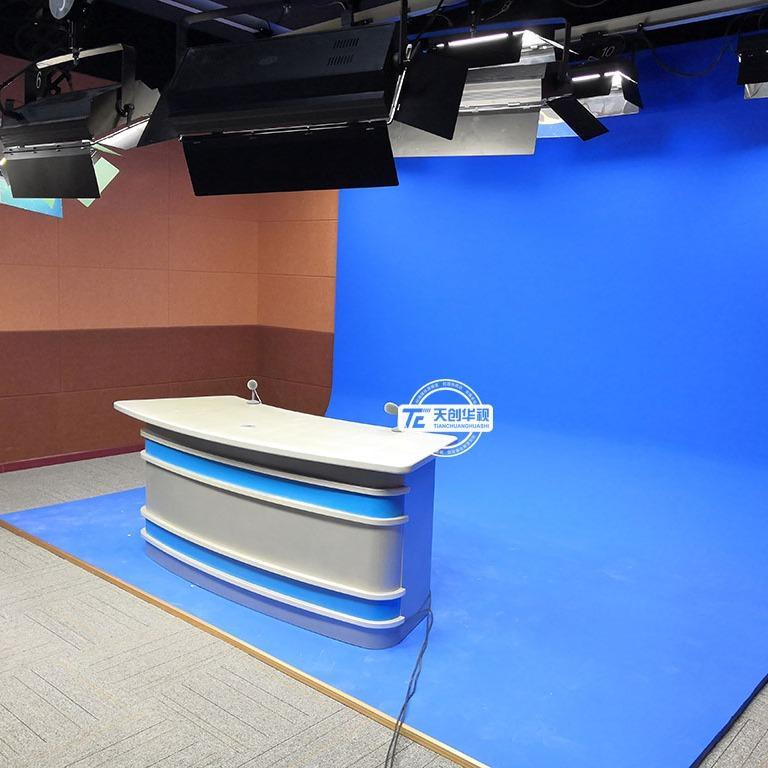 校园电视台设备构成 天创华视虚拟演播室搭建