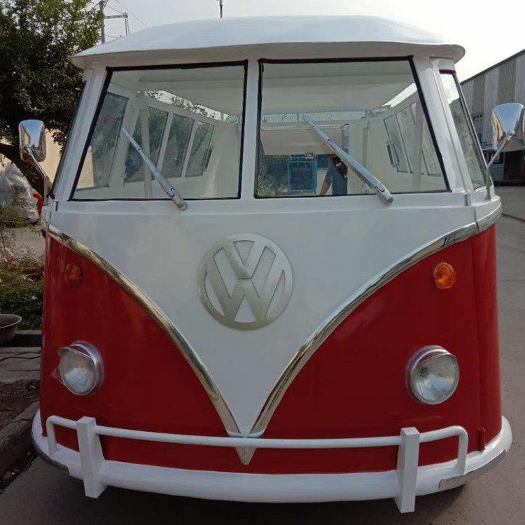 大型巴士车模型 信晟达 大型影视拍摄道具面包车模型