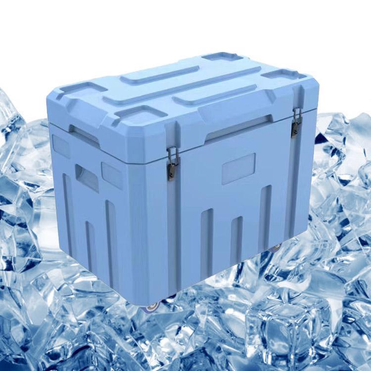 附近的PE材質隔熱箱供應商 LLDPE保溫箱 友特容器滾塑干冰箱加工廠家