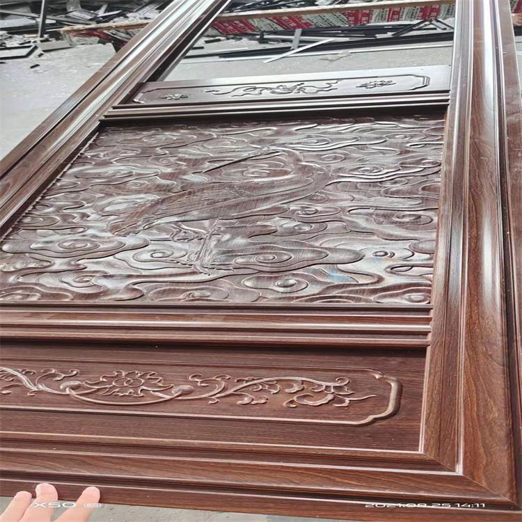 來圖制作 新復古門窗 杭州中譽復古門窗 浮雕鋁合金門窗 廠家
