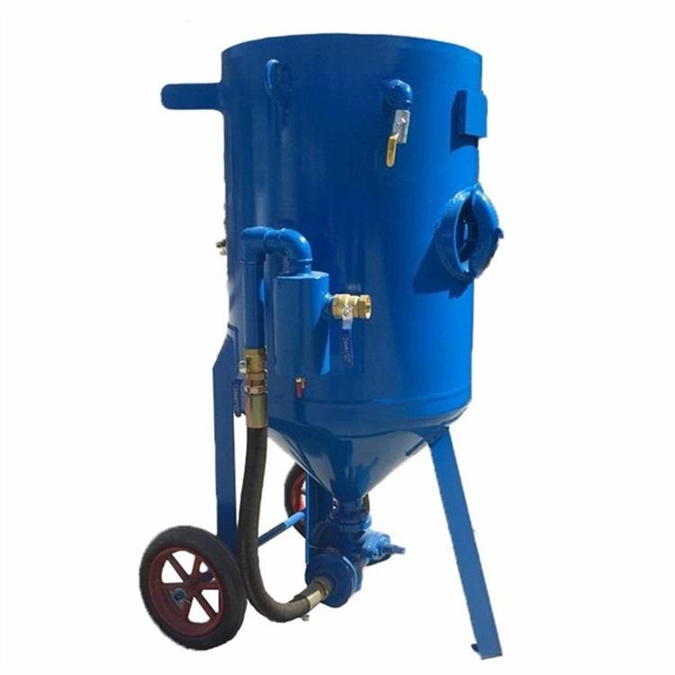 厂家供应抛丸机喷砂机 择众气动干喷沙机 自动喷砂罐除锈用