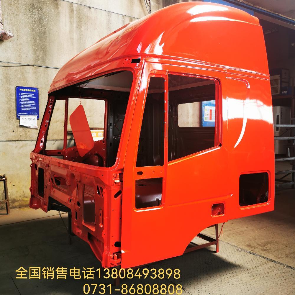 上汽紅巖杰獅C500牽引車高頂駕駛室殼體廠價批發全國各地
