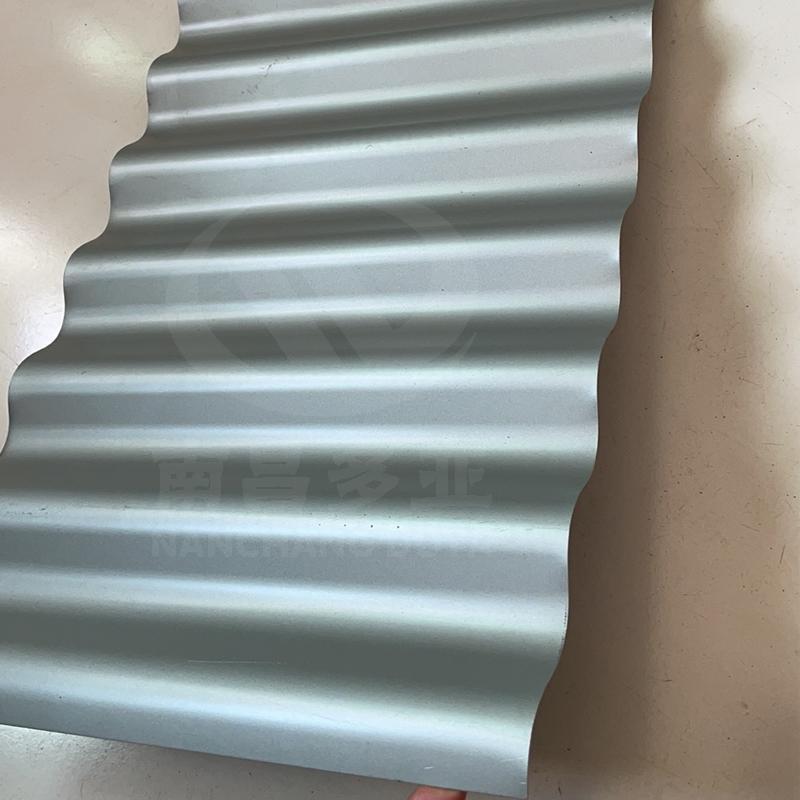 合肥 铝镁锰板 波纹板墙面 方波 瓦楞板 南昌多亚