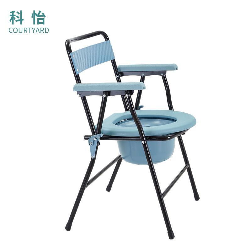 科怡老人孕妇坐便椅 可折叠伸缩坐便椅坐厕椅 支持贸易批发定制