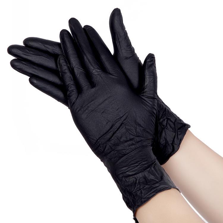 出口黑色PVC手套 尚维批发厂家 玉手PVC手套品牌 日常手套