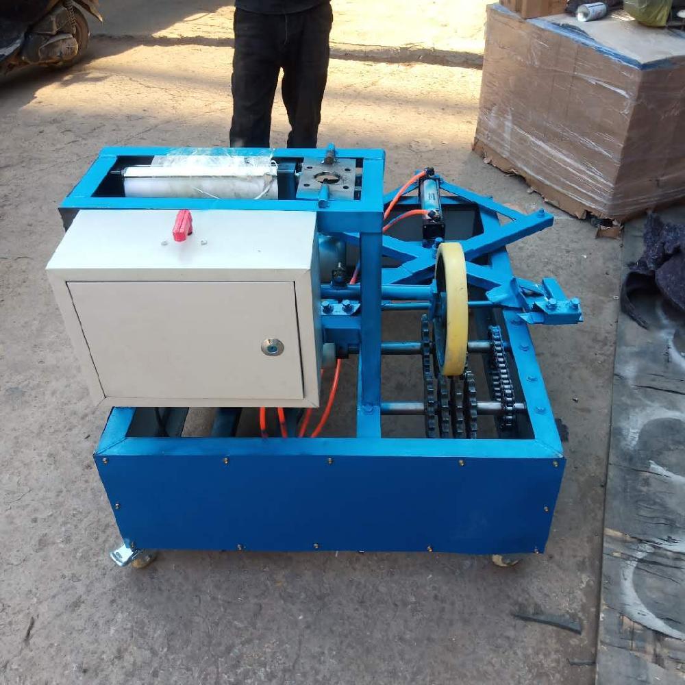 禾业机械 废旧轮胎切割机 自动轮胎割胎机 双面小型切割机