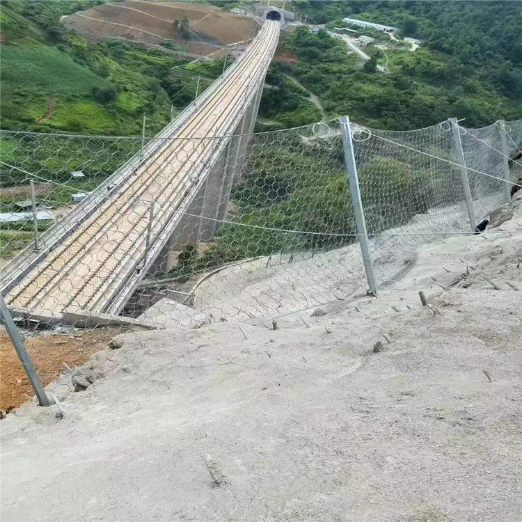 辽宁边坡防护网 绞索防护网价格 边坡工程护网 斯登诺长期供应
