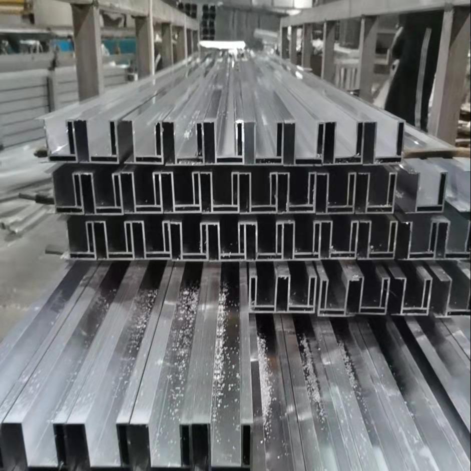 精密铝型材加工 工业铝型材 喷砂氧化山东鑫迈铝业
