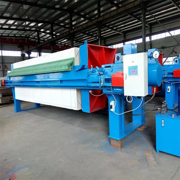 程控自动压滤机 圣泉机械 液压隔膜压滤机 带式污泥压滤机