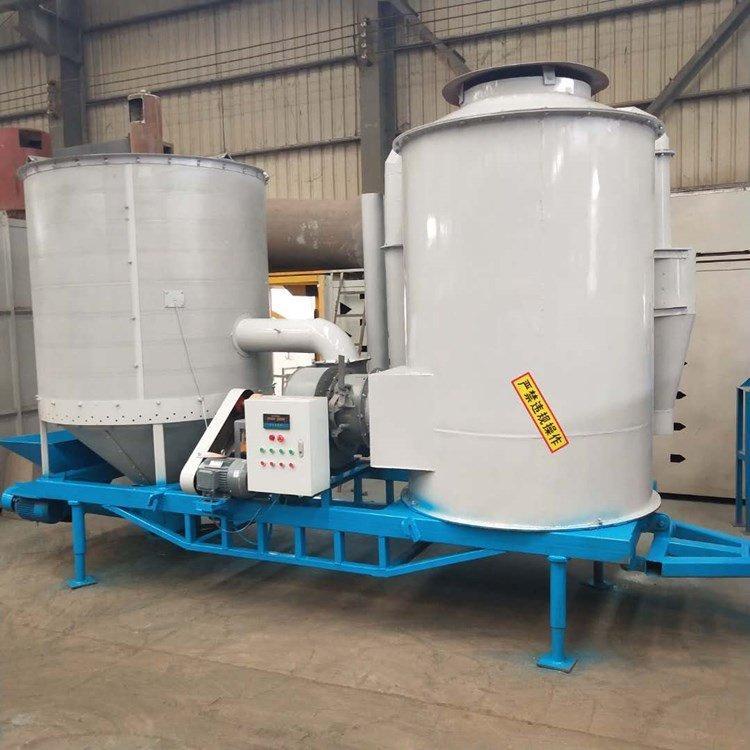 杂粮干燥通用设备 花生种子干燥机 车载移动粮食风干机 杰鑫机械