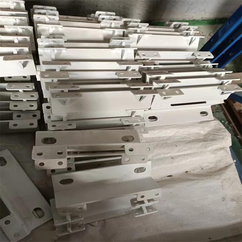 德聚鑫压滤机配件销售各种支架 压滤机推板支架 压滤机跑道支架